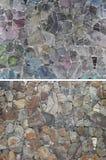 Set of stone background, pavement tiles Stock Photo