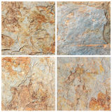Set of stone background and texture (High resolution) Royalty Free Stock Photography
