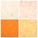 Set of Stone backgrounds Royalty Free Stock Photos