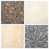 Set of Stone backgrounds Royalty Free Stock Photography