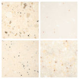 Set of Stone backgrounds Stock Images