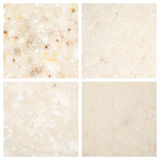 Set of Stone backgrounds Stock Photography