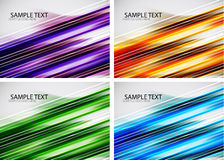 Set of straight lines abstract background Stock Image