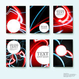 Set straight lines abstract  background Stock Photo