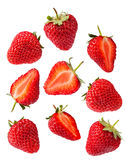 Set of Strawberries Stock Images