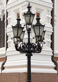 Set of Streetlamps Royalty Free Stock Images
