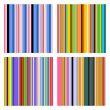Set of stripe pattern. Seamless vector illustration. Isolated on white background.  royalty free illustration