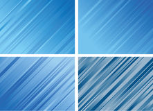 Set of Striped Backgrounds Stock Photos
