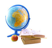 Set for study geography Royalty Free Stock Photography