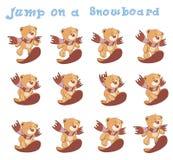 A set of stuffed bear toys cartoon  Royalty Free Stock Photo