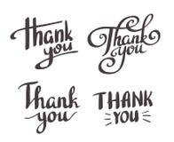 Set styl 'Dziękuje Ciebie' projektować elementy ilustracji