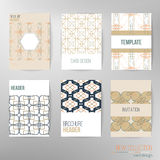 Set of stylish multipurpose vector cards. Can be Stock Photos
