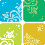 Set of summer backgrounds Royalty Free Stock Photo