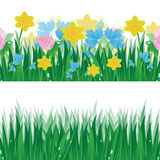 Set of summer banners Stock Image