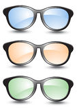 Set of sunglasses Stock Photo