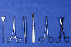 A set of surgical Royalty Free Stock Images