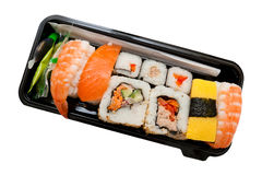 Set of sushi Stock Image