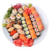 Set Sushi Stockbilder
