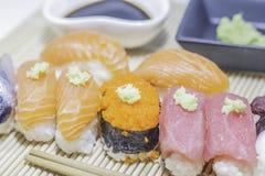 Set of sushi. Stock Images
