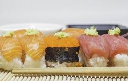 Set of sushi. Royalty Free Stock Photos