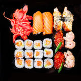 Set of sushi Royalty Free Stock Images