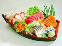 set sushi för japan Arkivfoto