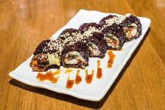 set sushi för maki Royaltyfri Foto