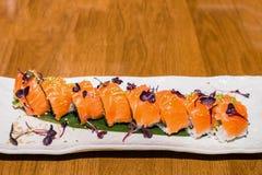 set sushi för maki Royaltyfria Foton