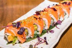 set sushi för maki Royaltyfri Fotografi