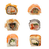 Set of sushi Stock Photography