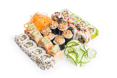 Set of sushi maki Royalty Free Stock Image