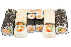 Set of Sushi roll Stock Image
