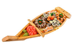 Set of Sushi roll Royalty Free Stock Image