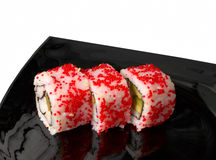 Set of sushi rolls Royalty Free Stock Photography