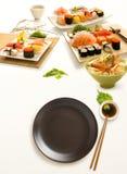 Set of sushi Royalty Free Stock Photography