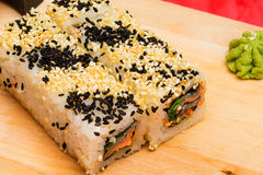 Set of sushi. Royalty Free Stock Images