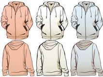 Set of Sweatshirts Stock Photo