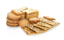 The set of sweet cookies Royalty Free Stock Images