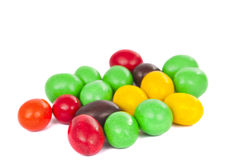 Set of sweet dragees of different color Royalty Free Stock Photo