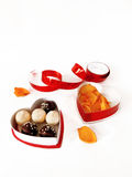 Set of sweets in a box Stock Photography