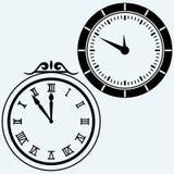 Set symbol clock Stock Photography