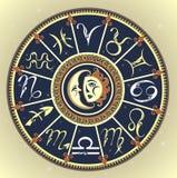 Set of Symbol Zodiac Sign Royalty Free Stock Photos