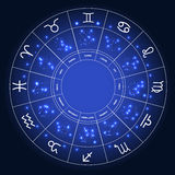 Set of Symbol Zodiac Sign. Vector Illustration Royalty Free Stock Images