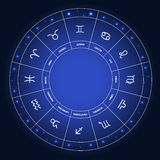 Set of Symbol Zodiac Sign. Vector Illustration Stock Photos