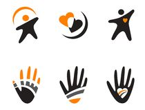 Set Symbole lizenzfreie abbildung