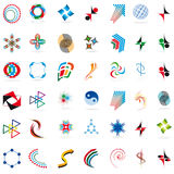 Set Symbole Stockfoto