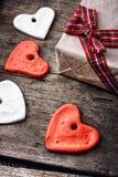 Set of symbolic hearts Stock Photo