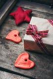 Set of symbolic hearts Royalty Free Stock Images