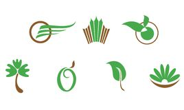 Set of symbols royalty free stock images