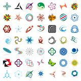 Set of symbols Stock Photos
